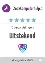 Recensies van servicebedrijf Mega Computer Services MCS op www.zoekcomputerhulp.nl